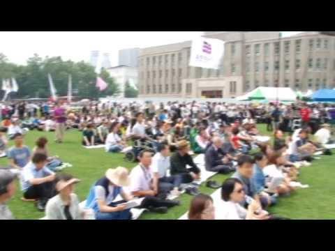 6.10민주항쟁 25주년 기념식, 국민행사 스케치 영상