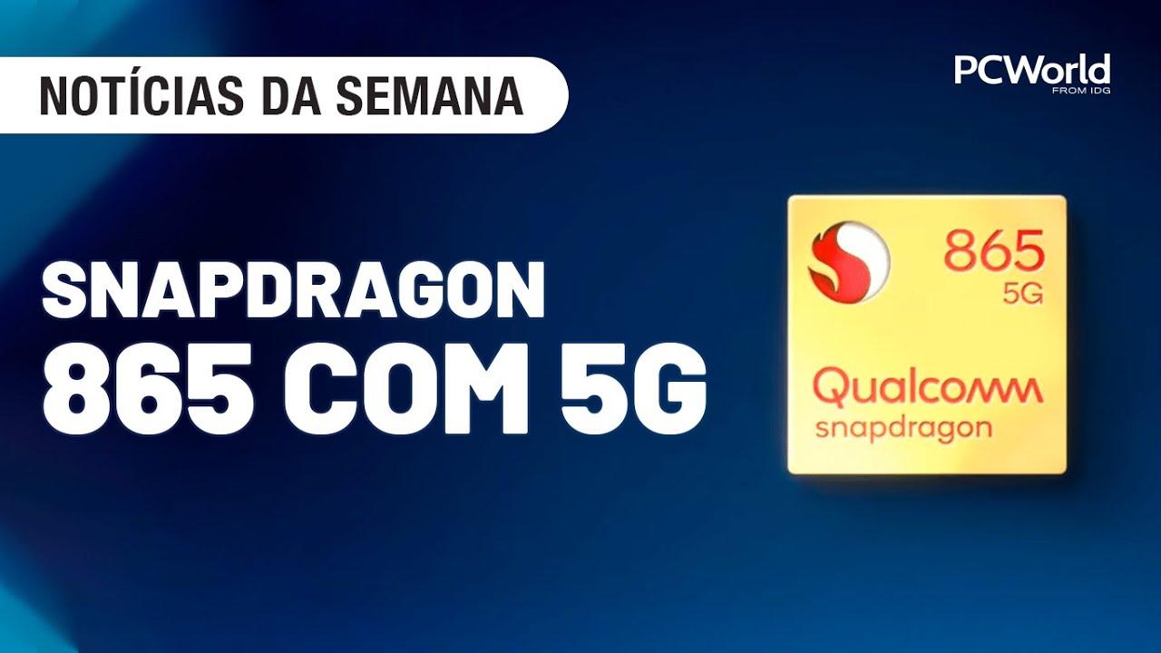 Snapdragon 865 e 765 com 5G; Motorola One Hyper; Celular do Pablo Escobar [Notícias da Semana]