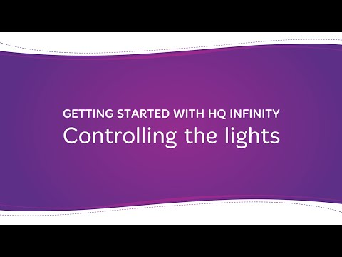 HQ Infinity - Controlling the Lights