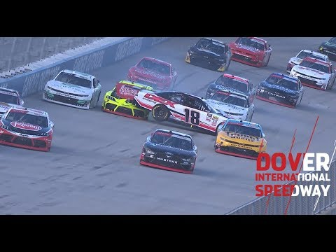Brandon Jones out of playoffs after crash on Lap 1: Xfinity Series at Dover International Speedway