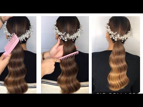 ••• wavy ponytail tutorial ••• קוקו מוברש