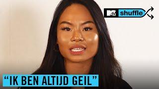 "LENA uit EOTBDD: ""DOPEBWOY mag mij HELEMAAL uit elkaar…""   MTV SHUFFLE"