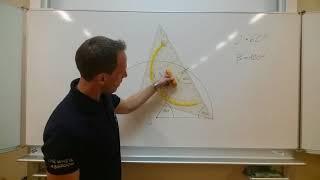 Winkelkonstruktion (WINKEL / KONSTRUKTION / ANGLE) ohne Winkelmesser ...