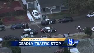 Hayward police sergeant killed during traffic stop