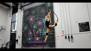 Not Afraid Anymore - Hoop Improvisation