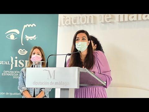 Presentación de las actividades de la Diputación con motivo del 25 N