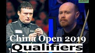 Jimmy White vs Gary Wilson China Open 2019 Qualifers