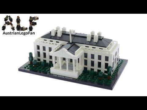 Vidéo LEGO Architecture 21006 : La Maison Blanche