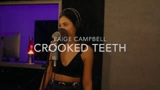 Crooked Teeth - Death Cab for Cutie | Cover by Paige Campbell