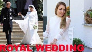 Свадьба года!💍Платья и макияж Меган Маркл и гостей. Кейт Миддлтон, Клуни, Бекхэм