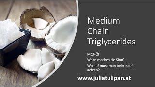 Was ist MCT Öl? Worauf kommt es an? Wann verwendet man MCT Öl?