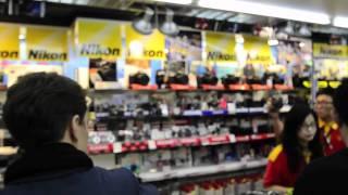 Camera shopping Mecca - Mong Kok!