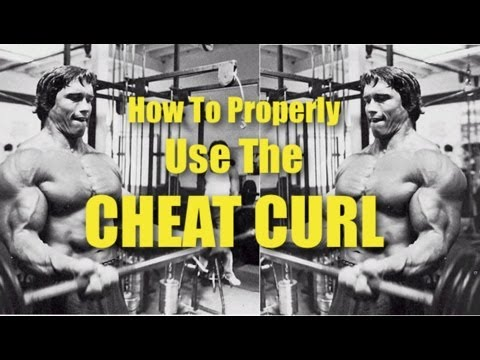 Cheating Barbell Biceps Curl