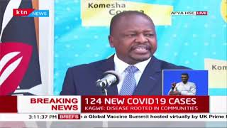Covid-19: 124 more test positive from 2640 samples taken, Elgeyo Marakwet reports its first case