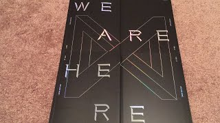 MONSTA X TAKE. 2 WE ARE HERE All 4 Versions 2nd Album Unboxing (K-Pop Haul #69)