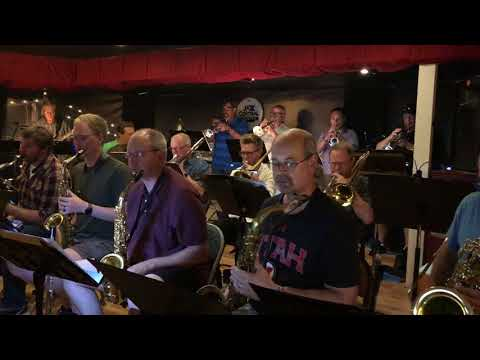 Steve playing lead trumpet with the Genesis Jazz Orchestra (video from a performance at Jazz Central - Minneapolis)