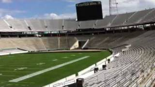 On Field Tour of The Cotton Bowl Stadium In Dallas, Texas