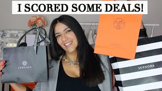 What I Got on Black Friday! Hermes, Chanel, Zimmermann, Sephora!