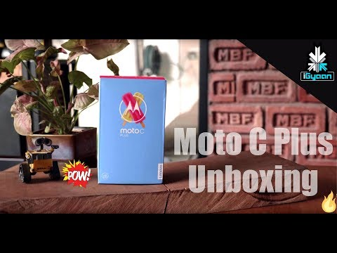 Moto C Plus Unboxing - New Budget Best?