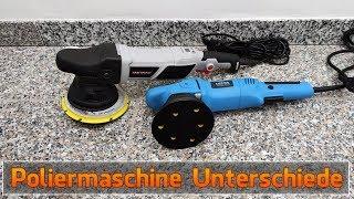 Exzenter Poliermaschine Unterschiede: Stützteller, Hub & Leistung - Lupus & Dino Kraftpaket