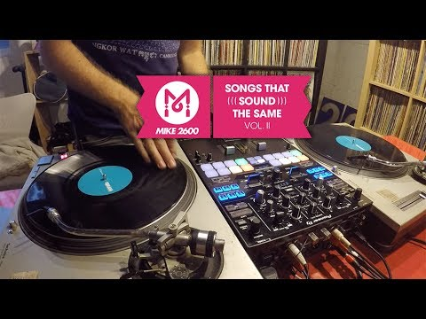 A DJ Mixes Songs That Sound The Same