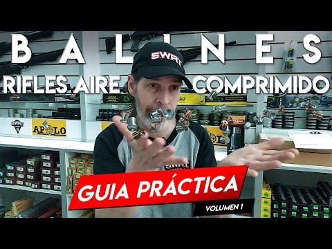 Balines de Aire comprimido - Calibres Peso Formas - 4.5 5.5 6.35 mm - Guía Práctica - SWAT