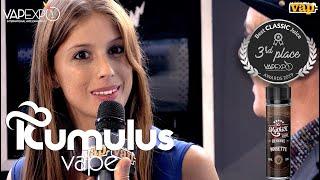 KUMULUS VAPE : le MYTHIK Noisette sur le podium Vapexpo Paris