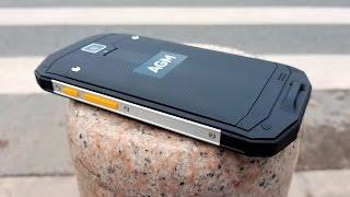 Смартфон AGM A8 3/32GB Black от компании Cthp - видео 3