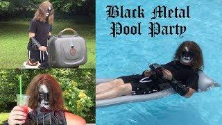 Black Metal Pool Party