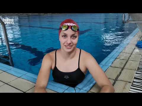Leskovačka plivačica se sprema za Svetsko prvenstvo, a sanja Olimpijske igre