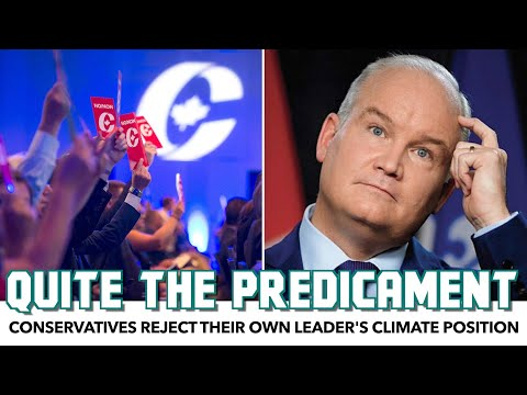 Conservatives Reject Their Own Leader's Climate Position