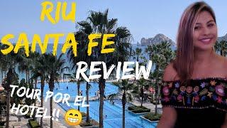 Riu Santa Fe Cabo San Lucas : Hotel Tour , Mi Experiencia, Pool Party.