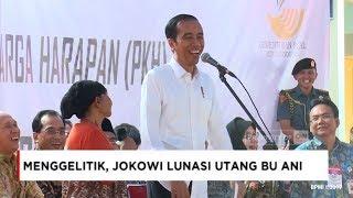 Momen Menggelitik & Sekaligus Mengharukan, Presiden Jokowi Lunasi Utang Bu Ani