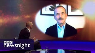Astronaut Chris Hadfield on SpaceX's ambitious plans - BBC Newsnight