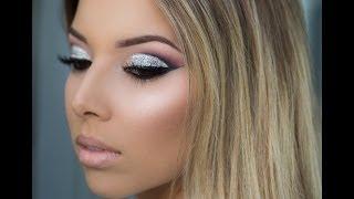 Party Makeup: Glitter Cut Crease Tutorial!