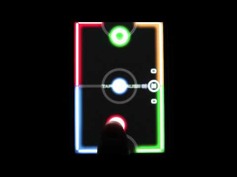 Video of Glow Hockey