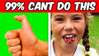 5 THINGS MOST PEOPLE CAN'T DO! (ONLY 1% CAN)