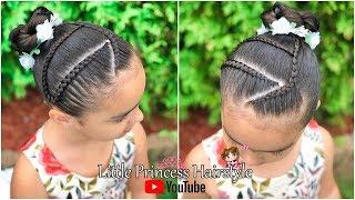 Little Princess Hairstyle Peinado Elegante Para Niñas Con