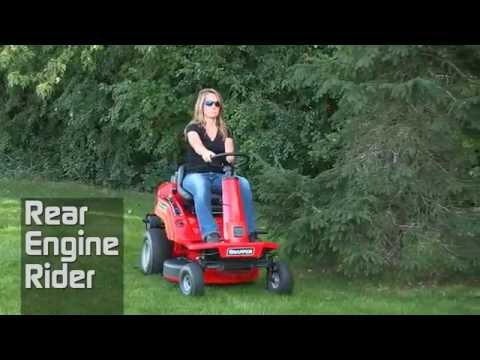 2020 Snapper Rear Engine 33 in. Briggs & Stratton Professional 15.5 hp in Lafayette, Indiana - Video 1