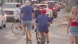 4th of July traffic troubles after celebrations