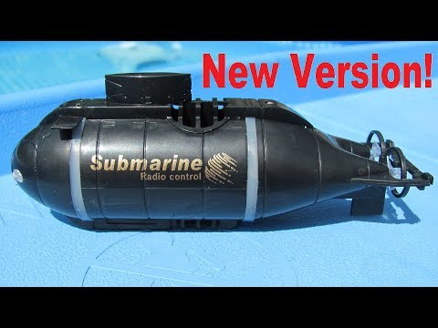 Mini RC submarine review: The new 777 sub version made by Happy cow. (also sold by Carson)