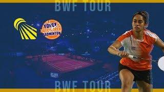 Zhang Yi Man vs Supanida Katethong (WS, QF) - YONEX Dutch Open 2019