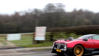 preview picture of video 'Zonda F 200mph Crash! MUST WATCH!'