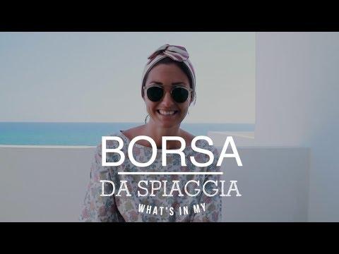 WHAT'S IN MY...BORSA DA SPIAGGIA! :D From Formentera ;-)