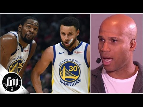Stop the nonsense, the Warriors still want Kevin Durant on their team - Richard Jefferson | The Jump