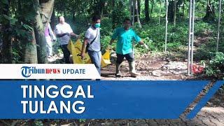 Mayat Tinggal Tulang Ditemukan di TPU Singopadu Serang dan Masih Kenakan Pakaian