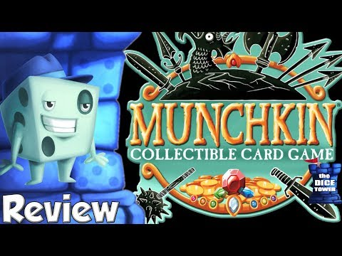 Munchkin Collectible Card Game Review – with Tom Vasel