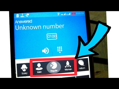 How to call with Unknown number and in Female voice | Change your voice during calls in MALE /FEMALE