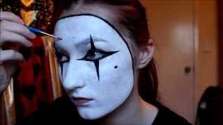 EASY French Mime Costume + Makeup/Facepaint Tutorial