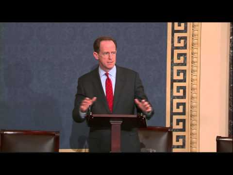 Senator Toomey Speaks In Support of Police